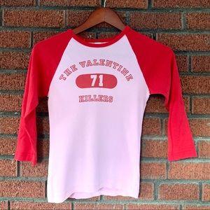 The Valentine Killers Tee Vintage 90s Band Tshirt